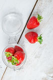Red berry strawberry Stock Photography