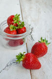 Red berry strawberry Stock Photo