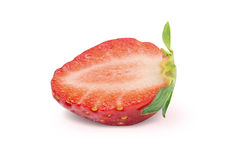 Red berry strawberry isolated on white background Stock Photo