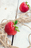 Red berry strawberry Stock Images