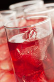 Red beverage Royalty Free Stock Image