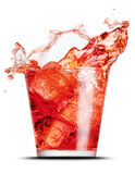Red beverage Royalty Free Stock Images