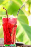 Red beverage Royalty Free Stock Photo