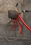 Red bicycle Royalty Free Stock Photos