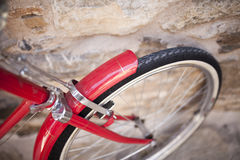 Red Bicycle Royalty Free Stock Image