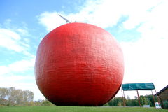 The Red Big Apple Royalty Free Stock Photography