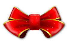 Red big bow Royalty Free Stock Image