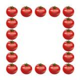 Red big fresh tomato. Isolated on white background Stock Image