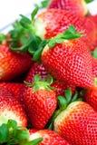Red big juicy ripe strawberries Royalty Free Stock Photos