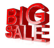 Red big sale Stock Photography