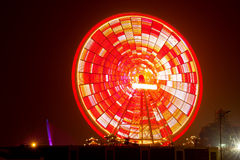 Red Big Wheel Stock Images