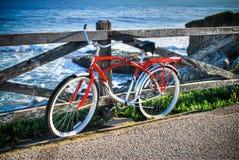 Red bike Stock Photos