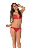 Red bikini Stock Photos