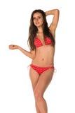 Red bikini Stock Image