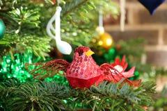 Red Bird Decoration royalty free stock photos