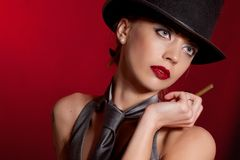 Red and black Royalty Free Stock Images