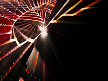 Red and black abstract background. Computer graphics abstract composition suitable for background Royalty Free Stock Image