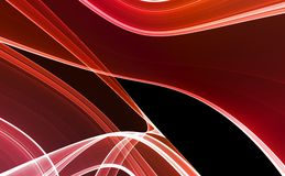 Red & Black Abstract background Royalty Free Stock Photos