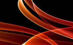 Red & Black Abstract background Royalty Free Stock Image