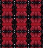 Red and Black Abstract Pattern used as Background Texture Royalty Free Stock Photography