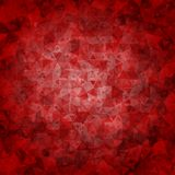 Red black abstract triangle background Royalty Free Stock Photo