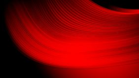 Red and black abstract vector shaded wavy background wallpaper. vector illustration. Royalty Free Stock Image