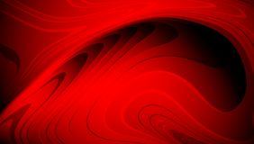 Red and black abstract vector shaded wavy background wallpaper. vector illustration. Stock Image