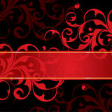 Red and black background Royalty Free Stock Photos