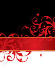 Red and black background Stock Images