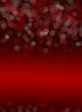 Red-Black bokeh abstract background Royalty Free Stock Images
