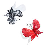 Red and black butterfly Stock Photos