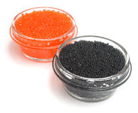 Red and black caviar 2 Royalty Free Stock Image