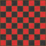 Red & Black Checkerboard Royalty Free Stock Image