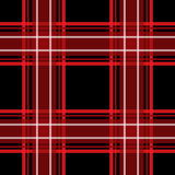 Red and black checkered seamless pattern repeat Royalty Free Stock Images