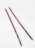Red & Black Chinese Chopsticks Stock Photo