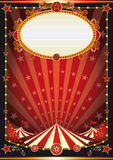 Red and black circus background Stock Photo