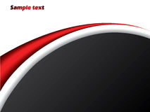 Red and black company brochure Royalty Free Stock Photography