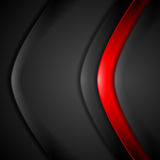 Red black contrast abstract background. Vector corporate design Royalty Free Stock Photo