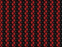 Red and black diamonds background Stock Photo