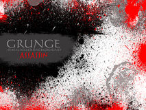 Red and Black Drops Grunge Background Stock Photo