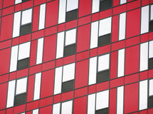 Red and black facade Royalty Free Stock Photos