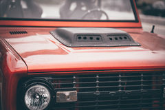 Red and Black Ford Car Stock Photo