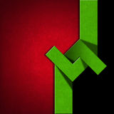 Red, Black and Green Abstract Background Royalty Free Stock Image