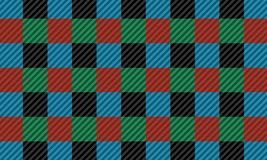Red,black,green and blue firebrick gingham pattern.Vector illustration.EPS-10. - Vector. Red,black,green and blue firebrick gingham pattern.Texture for-plaid royalty free illustration
