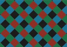 Red,black,green and blue firebrick gingham pattern.Vector illustration.EPS-10. - Vector. Red,black,green and blue firebrick gingham pattern.Texture for-plaid vector illustration