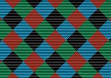 Red,black,green and blue firebrick gingham pattern.Vector illustration.EPS-10. - Vector. Red,black,green and blue firebrick gingham pattern.Texture for-plaid stock illustration