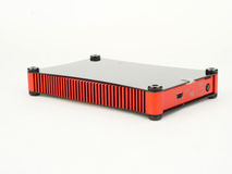 Red and black hard drive Stock Photography
