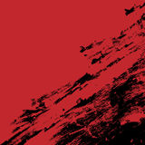 red and black ink splash background Royalty Free Stock Photography