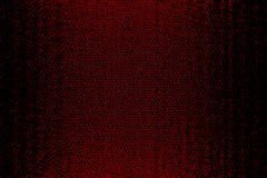 Red and black leather background texture. Stock Photo