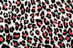 Red and black leopard pattern. Stock Image